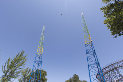Riders will be catapulted nearly 300-feet into the air on SlingShot, debuting at Carowinds in the Spring of 2015. SlingShot marks the second new ride coming to Carowinds next year. The Park will also introduce Fury 325, the world's tallest and fastest giga coaster.