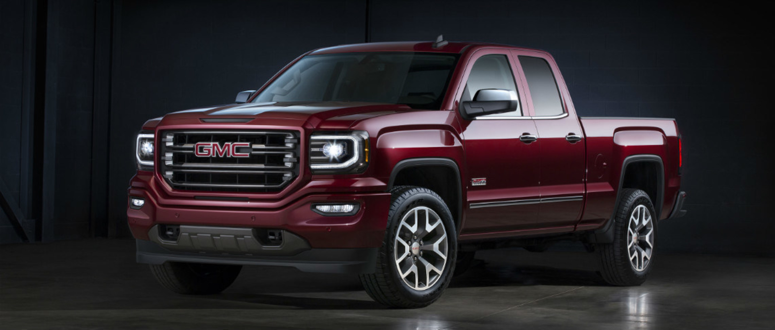 Don Wheaton shows off GMC vehicles for new customers