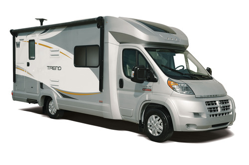 Winnebago recently introduced the innovative, fuel-efficient Trend, one of the many reasons the company was ...