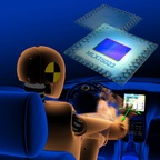SoftKinetic And Melexis First To Bring 3D Vision To Automobile Infotainment (PRNewsFoto/SoftKinetic)