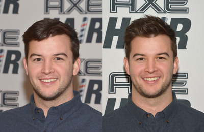 Star quarterback AJ McCarron gets ready for the big league with new messy, matte style by AXE Hair Gels on January 29, 2014 in New York City. (PRNewsFoto/Unilever United States, Inc.) (PRNewsFoto/UNILEVER UNITED STATES, INC.)