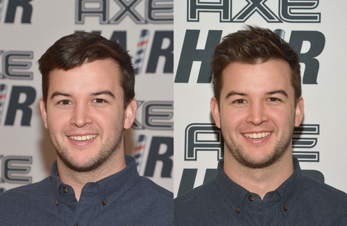 Star quarterback AJ McCarron gets ready for the big league with new messy, matte style by AXE Hair Gels on January 29, 2014 in New York City. (PRNewsFoto/Unilever United States, Inc.)