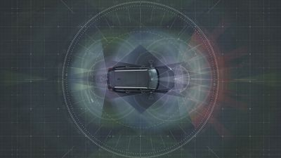 "Autonomous drive technology âeuro"" Complete system solution: The holistic solution generates exact positioning and a complete 360 degree view of the car's surroundings. This is achieved by a combination of multiple radars, cameras and laser sensors. (PRNewsFoto/Volvo Car Corporation)"