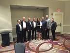 From left:  Lorenzo Ponzanelli, Rich Davis, Mike Bokan, John Balzotti, Dana Slater, Don Brady, Ian Basey and Jeff Bader