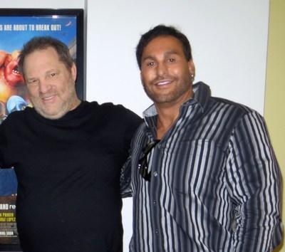 Harvey Weinstein and Michael Trigg (PRNewsFoto/Wet)