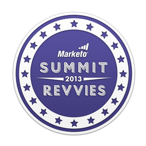 Marketo Announces Winners of The 2013 Revvie Awards.  (PRNewsFoto/Marketo)