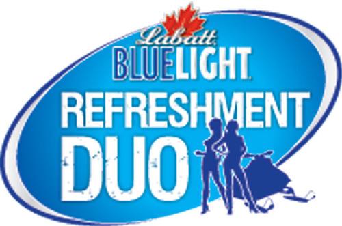 Blue Light Refreshment Duo logo.  (PRNewsFoto/Labatt USA)