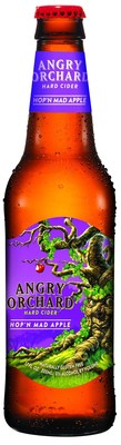 Angry Orchard Launches New Hop'n Mad Apple Hard Cider Nationwide