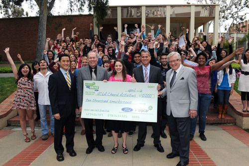 Ford, Zipcar 'Students with Drive' Grant Program Awards $300,000 to Student Organizations