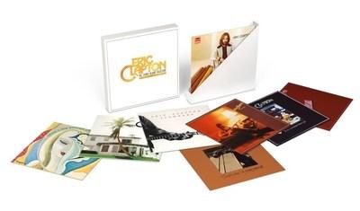 Eric Clapton: The Studio Album Collection 1971-1980, 8 ALBUM VINYL BOX SET, JANUARY 29, 2016