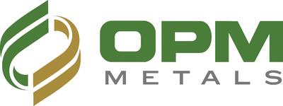OPM Metals Company Logo.  (PRNewsFoto/Ohio Precious Metals, LLC)