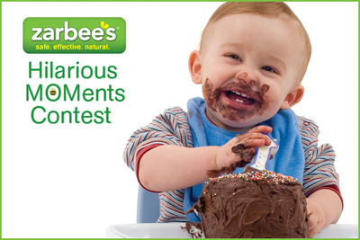 Zarbee's the #1 all natural, drug-free, safe and effective cough solution for the entire family celebrates life's most entertaining parenting moments with its Hilarious MOMents contest.  Kicking off today, parents can submit their personal anecdotes through Zarbee's Facebook page for the chance to win a $10,000 dream family vacation.  (PRNewsFoto/Zarbee's)