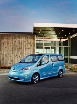 Nissan e-NV200 Concept Makes World Debut at 2012 North American International Auto Show.  (PRNewsFoto/Nissan North America, Inc.)