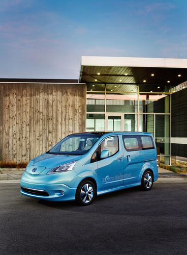 Nissan e-NV200 Concept Makes World Debut at 2012 North American International Auto Show.  (PRNewsFoto/Nissan North America, Inc.)