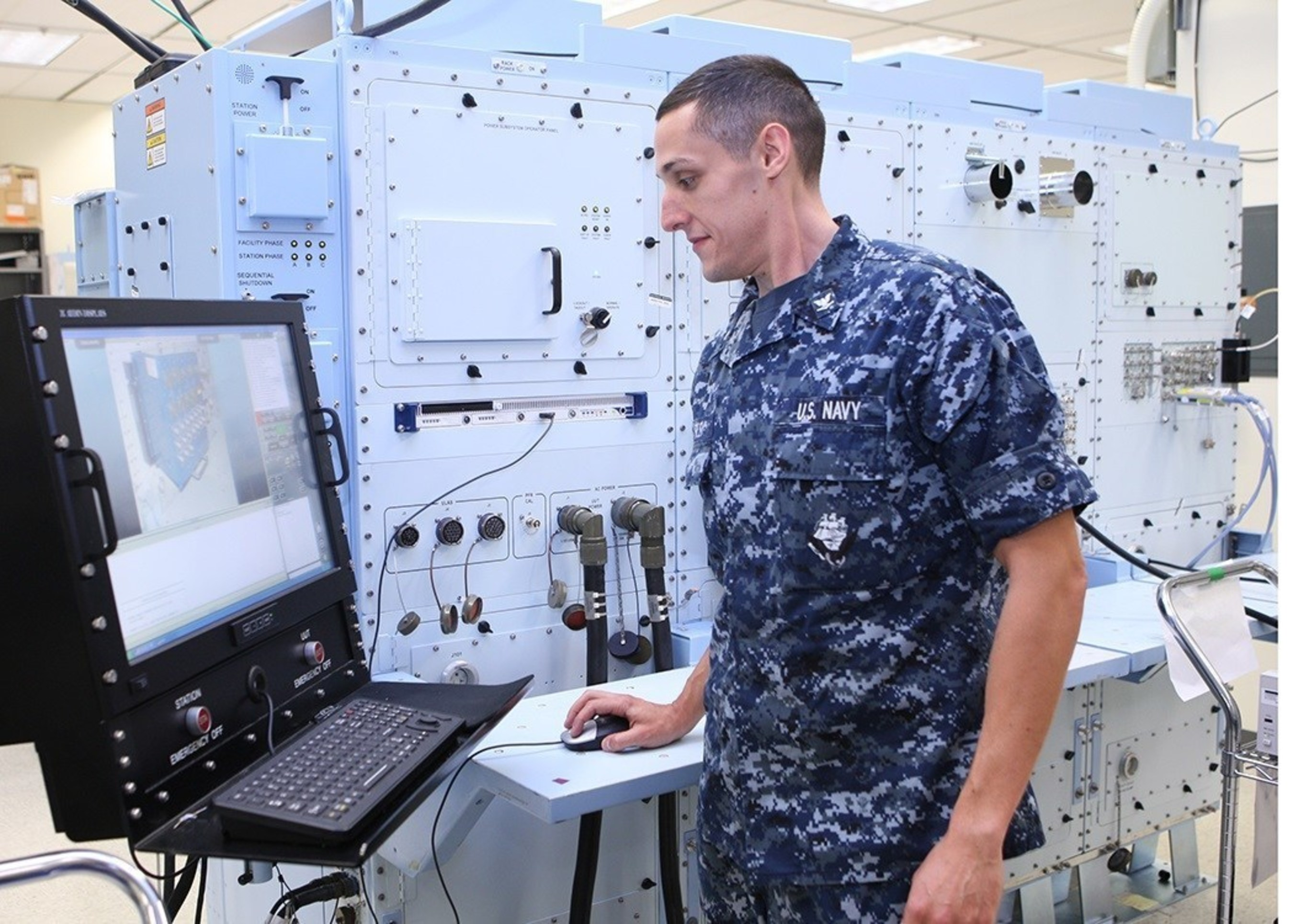 Sailors and Marines avoid cost by using the electronic Consolidated Automated Support System (eCASS) to troubleshoot naval aircraft prior to take off.