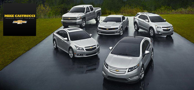 Certified Pre-Owned Chevy in Cincinnati, OH.  (PRNewsFoto/Mike Castrucci Auto Group)