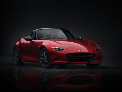 The MX-5 being named 2016 World Car Design of the Year represents the first time a Japanese model has won the award.
