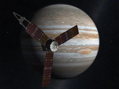 NASA's Juno spacecraft arrives at Jupiter July 4, 2016.