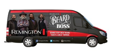 "Remington, the trusted global personal care brand that embodies ""How the World Gets Ready,"" will launch a week-long, six-city ""Let It Grow"" Beard Boss Tour across the Midwest and West to capture and highlight the essence of the increasing facial hair trend in the U.S. Starting on Friday, October 17, Remington? and its picturesque four-man Beard Boss team, sporting an array of unforgettable and unique beards and mustaches, will travel across the U.S. from Madison, Wisconsin to Portland, Oregon, finishing at the World Beard and Mustache Competition on October 25."
