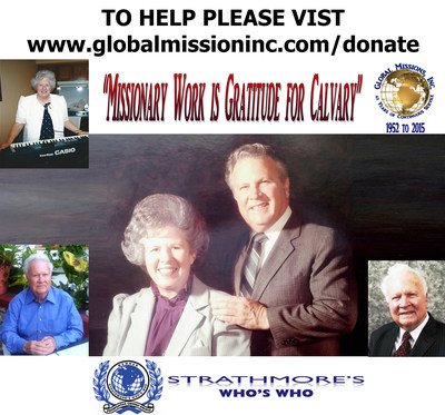 Max and Mary Manning of Global Missions, Inc. Honored By 2 Brothers Publishing For Humanitarian Work