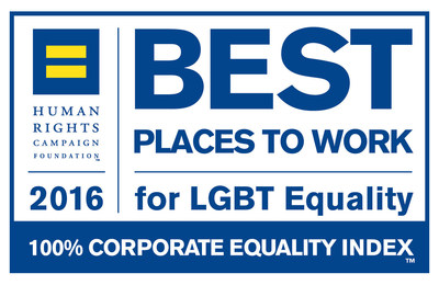 Colorado-based Ball Corporation earned top marks on the 2016 Corporate Equality Index and is now recognized as a Best Place to Work for LGBT Equality.