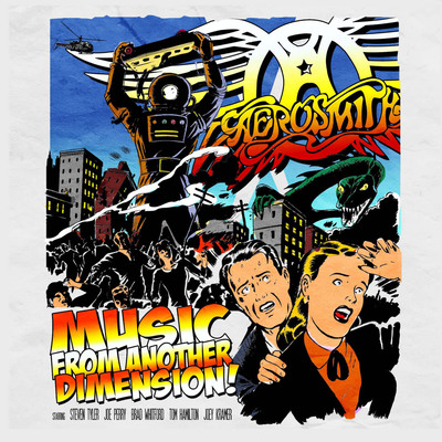 Music from Another Dimension, First New Aerosmith Album in 11 Years, Coming November 6.  (PRNewsFoto/Columbia Records)