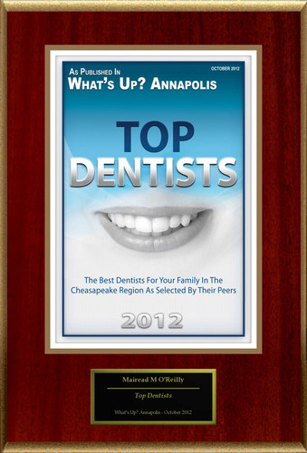 "Dr. Mairead O'Reilly Selected For ""Top Dentists.""  (PRNewsFoto/American Registry)"