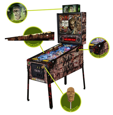 Accessories to The Walking Dead Stern Pinball Machine