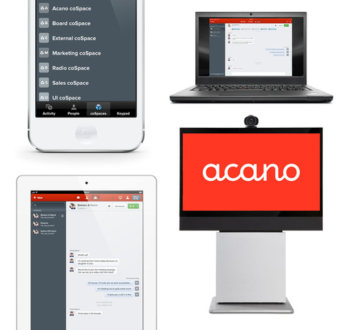 Acano unites previously incompatible audio, video and web technologies in coSpaces - virtual meeting rooms, only radically better. Join a coSpace with your iPad, smartphone,laptop, video system or Lync. It's a new type of workspace for mobile teams.  ...