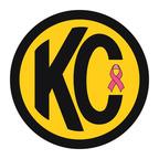 KC Original Sticker with Pink Ribbon.  (PRNewsFoto/KC HiLiTES)
