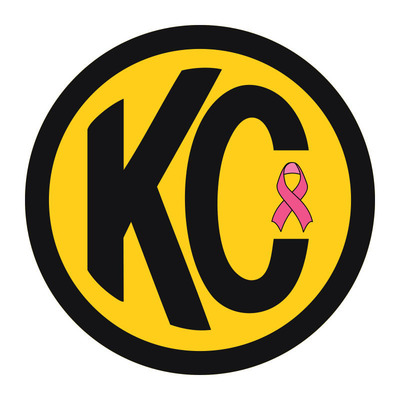 KC Original Sticker with Pink Ribbon.  (PRNewsFoto/KC HiLiTES)