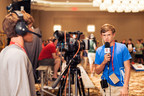 Student broadcasters at NFHS Network's Inaugural Broadcast Academy.