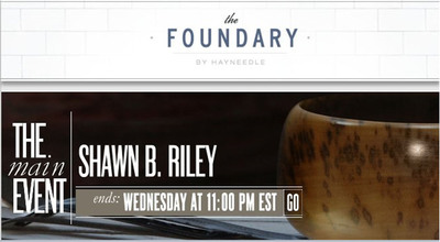 The Foundary Launches First Sales Event Featuring Exclusive Works From Designer Search Competition Winner, Shawn B. Riley
