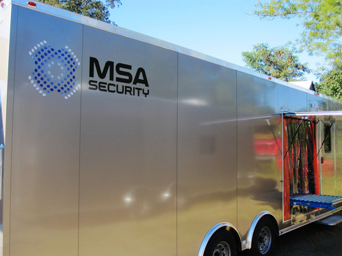MSA Security Introduces Mobile Mailroom Solution.  (PRNewsFoto/MSA Security)