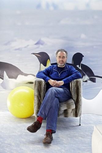 Urs Hoelzle, Senior Vice President for Technical Infrastructure at Google (PRNewsFoto/Best of Swiss Web)