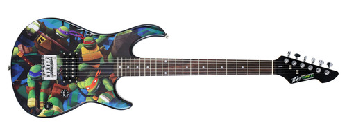 Nickelodeon and Peavey partner to create Teenage Mutant Ninja Turtles musical instruments.  (PRNewsFoto/Nickelodeon)