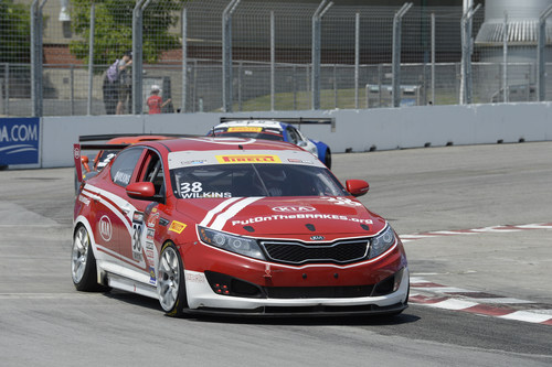 Toronto native mark wilkins scores thrilling victory for for Kia motors of america