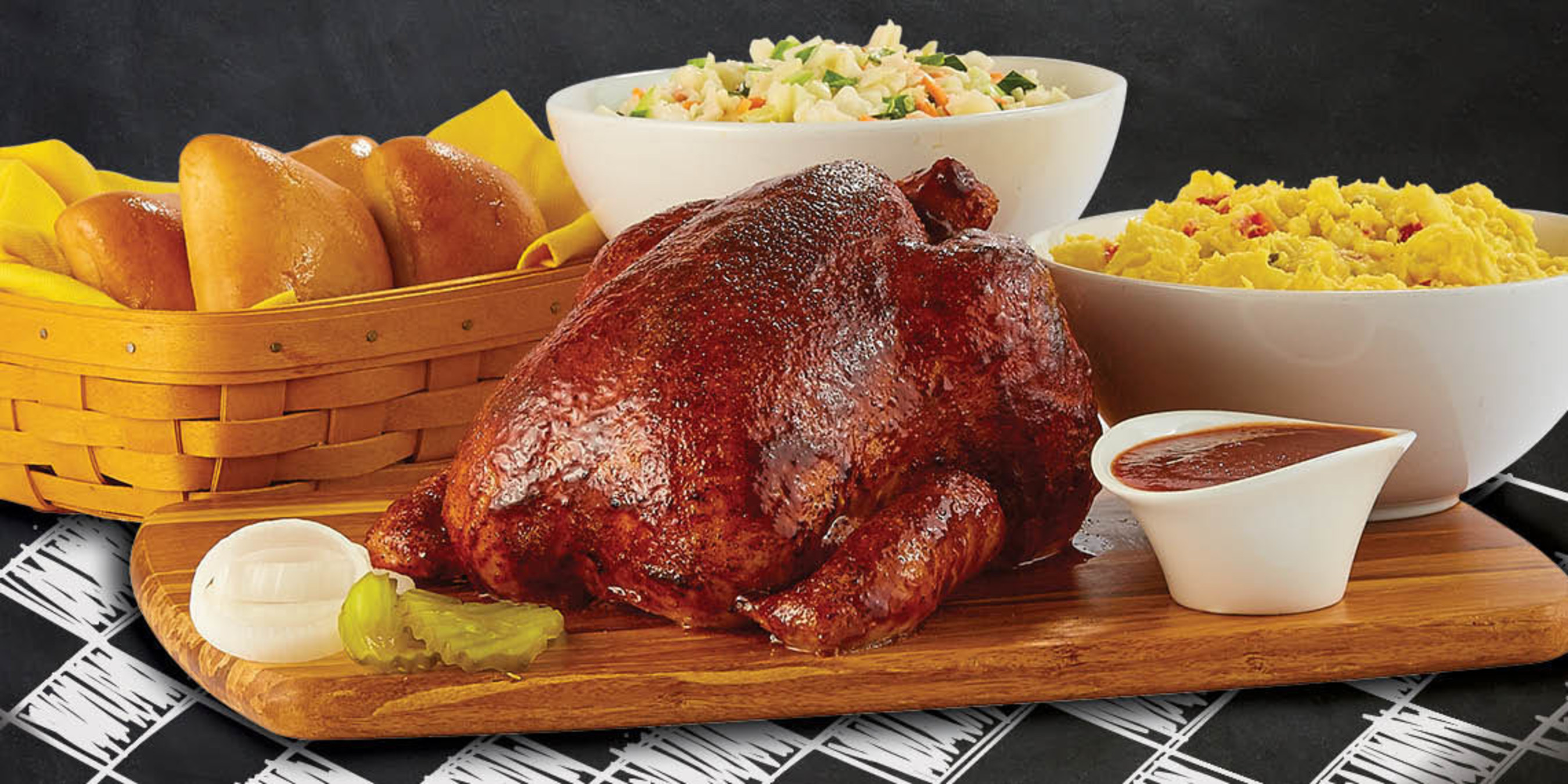 Dickey's Barbecue Pit launches whole smoked chicken available in new Chicknic Pack - raised without antibiotics. Starting August 1!