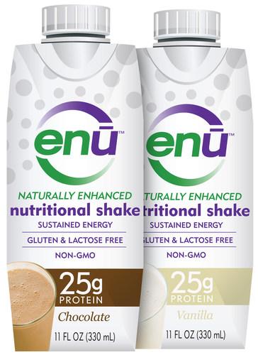 ENU Nutritional Shakes from Trovita Health Science. (PRNewsFoto/Trovita Health Science)