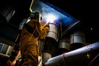 Bechtel receives an Excellence in Welding award from the American Welding Society.