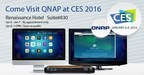 Experience The Latest Networked Storage Innovations that QNAP will be Showcasing at the 2016 CES
