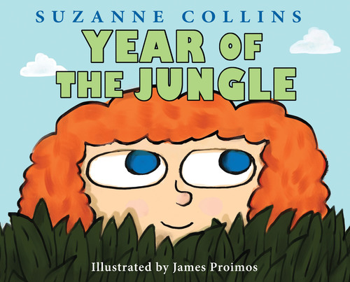 Cover image for Year of the Jungle (Scholastic Press) written by Suzanne Collins, illustrated by James Proimos.  ...