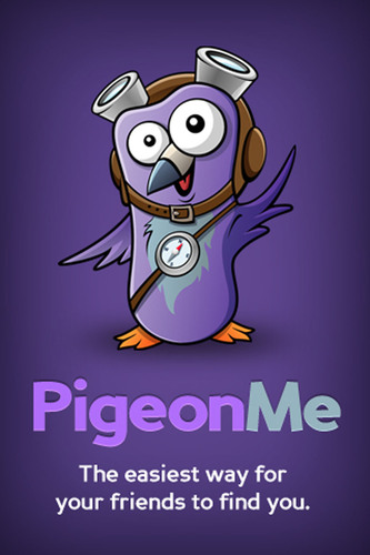 PigeonMe.com - Connecting friends to places for free. (PRNewsFoto/Sticky Projects LLC)