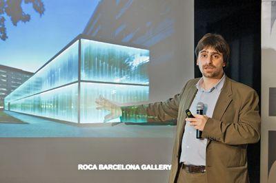 Geometry & Light: Award Winning Designer Borja Ferrater Inspires at Roca Showroom Event
