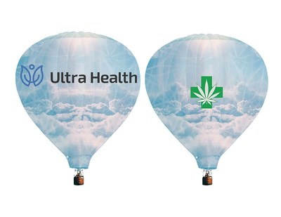 Ultra Health proposed balloon design for Albuquerque International Balloon Fiesta