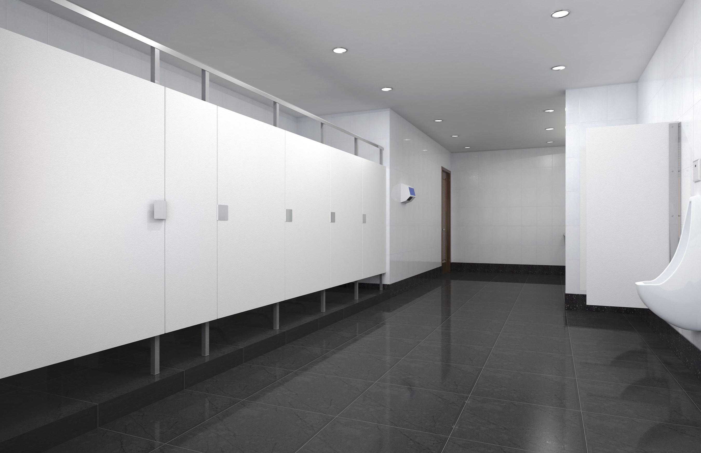 """Eclipse(TM) Partitions from Scranton Products wins a 2016 Architectural Products magazine Product Innovation Award (PIA). Eclipse partitions feature enhanced privacy with clean, ultra-modern looks and attractive hardware. This is achieved through a sleek """"no-sight"""" profile, in an extensive selection of colors and textures designed to blend beautifully with any contemporary bathroom decor.  One of only three winners in the Restroom Category, PIA entrants were judged by a group of 28 independent industry professionals.  The winners represent the most innovative architectural-related products from a wide range of categories and are featured in the November issue of the publication."""