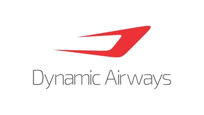 Dynamic Airways is a US certified PART 121 AIR CARRIER and changed ownership/ management in 2013 with a goal of providing high quality, low-cost medium and long haul air service. Dynamic Airways, which is headquartered in Greensboro, NC, revealed its new branding and website and now offers service between New York and Guyana, Hong Kong and Saipan as well as service between Beijing and Guam. For reservations & information, visit www.airdynamic.com, www.facebook.com/airdynamic, www.twitter.com/flyairdynamic, contact your favorite travel agent or call (336) 790-8176. (PRNewsFoto/Dynamic Airways LLC) (PRNewsFoto/Dynamic Airways LLC)