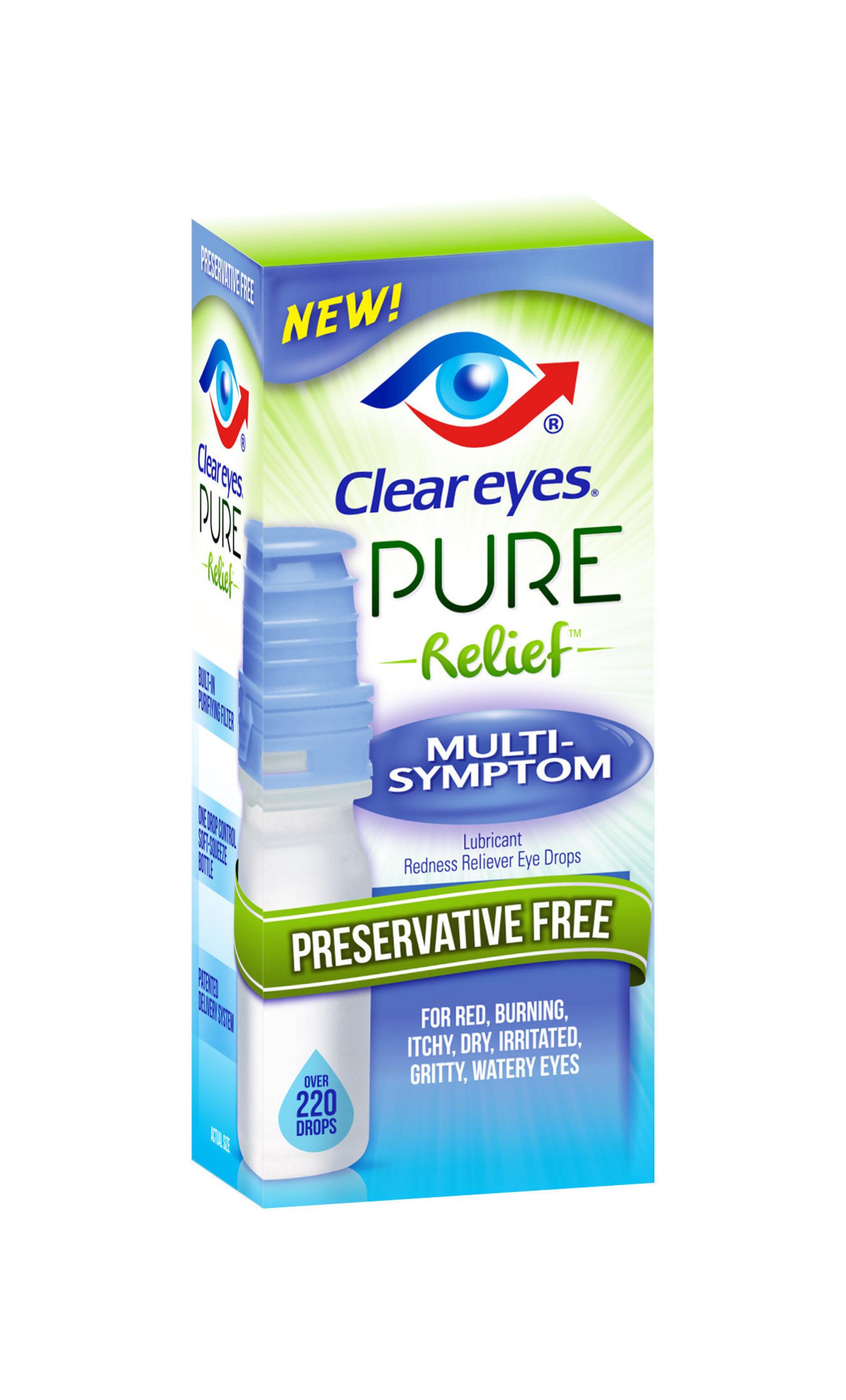 Clear Eyes(R) Pure Relief(TM) Multi-Symptom