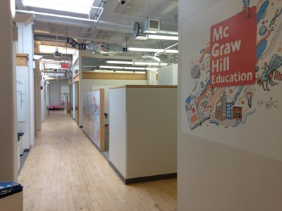 McGraw-Hill Education's R&D headquarters in Boston.