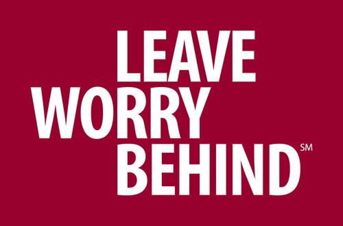 """Leave Worry Behind(SM)"" Logo.  (PRNewsFoto/Jiffy Lube International, Inc.)"